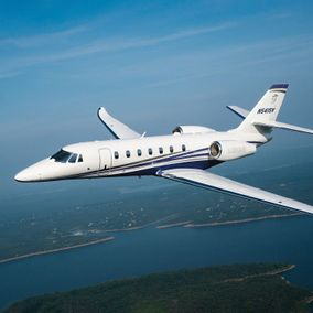 Privatjet Cessna Citation Sovereign fliegend