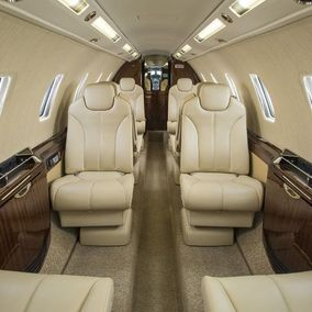 Private jet Cessna Citation Sovereign - Interior floor plan
